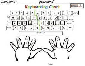 Is a keyboard you can print for your child to practice their typing
