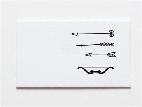 hand drawn arrows removable wallpaper tiny arrows and bow set of 4 temporary tattoos hand drawn