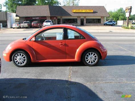 orange volkswagen beetle 2005 sundown orange volkswagen beetle gls coupe