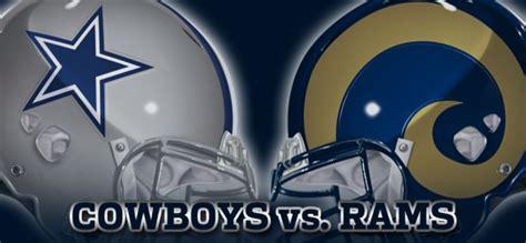 cowboy vs rams rams vs cowboys injury report rams gab