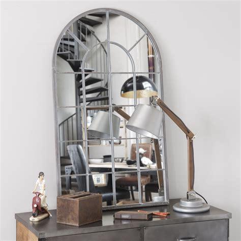Miroir En Metal by Miroir En M 233 Tal H 110 Cm Arcade Maisons Du Monde