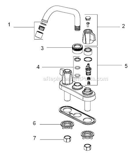 Specialty Plumbing Parts delta faucet 2133 parts list and diagram