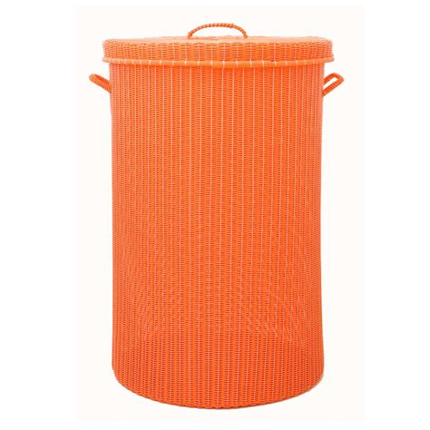 Orange Large Laundry Basket Milagros Orange Laundry