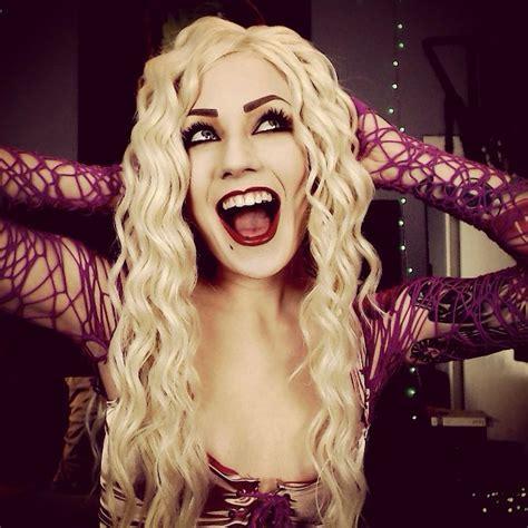 halloween themes for instagram sarah sanderson cosplay and makeup halloween ideas