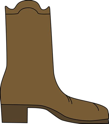 western boot clipart