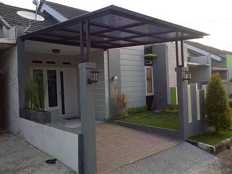 desain rumah minimalis tak depan
