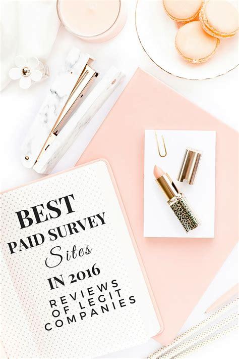 Best Paid Survey Sites - best paid survey sites for money in 2016 reviews of legit