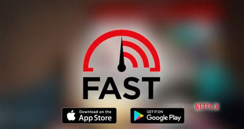 fast app for android netflix s fast speed test app whizzes onto ios and android redmond pie