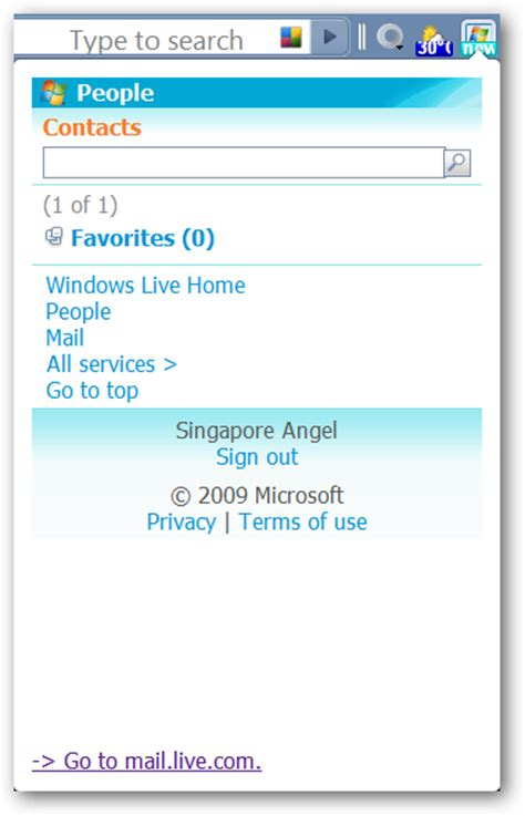 hotmail not mobile version manage your windows live account in chrome