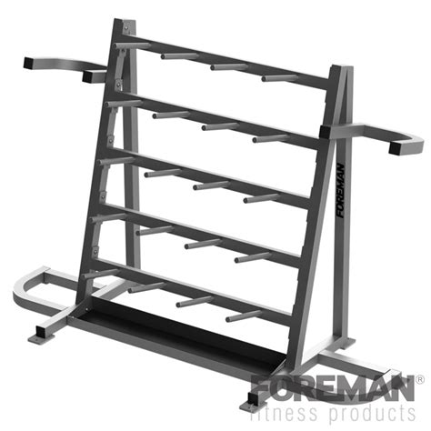 Barbell Storage Rack by Foreman Fitness Aerobic Barbell Storage Rack 20 Sets