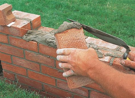 building a garden wall how to repair build a brick garden wall ideas advice