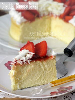 Bolu Jadul Aneka Topping just my ordinary kitchen cheddar cheese cake for my