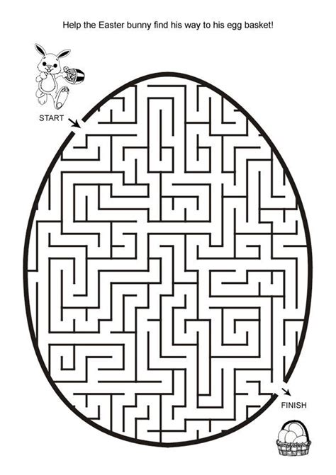 printable maze age 5 free online printable kids games easter egg hunt maze