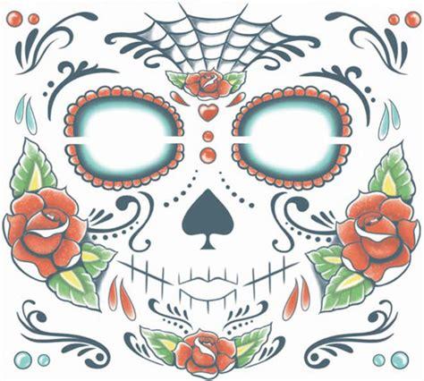 sugar skull kit de tatouage visage tattooforaweek