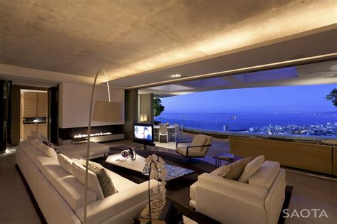 living room nightclub cape town world of architecture amazing mansion house by saota overlooking the city and cape town