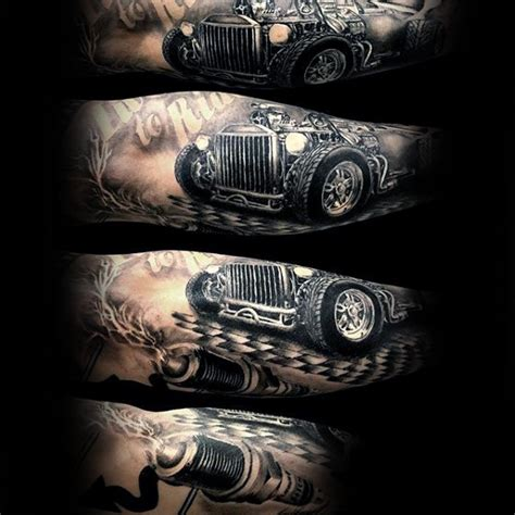 rat rod tattoos designs 70 rod designs for automobile aficionado