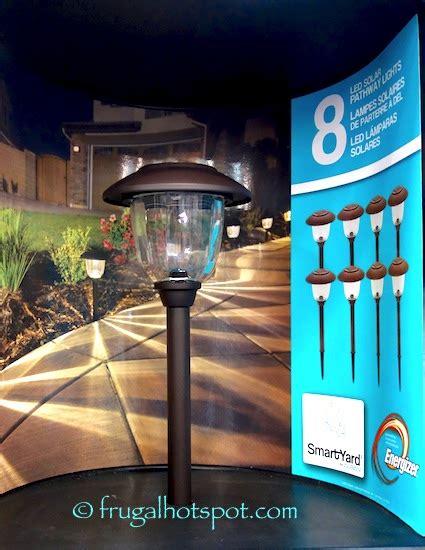 alpan solar lights 18 pack smartyard by alpan led solar pathway lights 8 pack