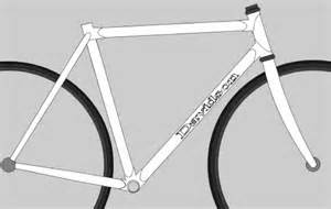 Bike Frame Template by Why Custom Davidson Handbuilt Bicycles