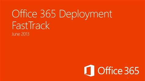 Office 365 Deployment Tool by Office 365 Deployment Fast Track