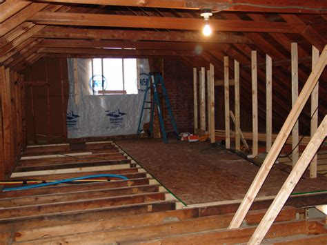 converting attic into bedroom converting an attic into living space popham construction