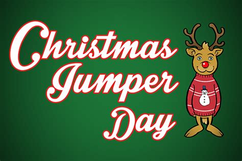 Sir William Robertson Academy Xmas Jumper Fundraising Jumper Day Template Letter