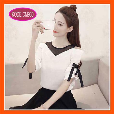 blus casual model longgar model baju blus korea terbaru casual dan modis cm930