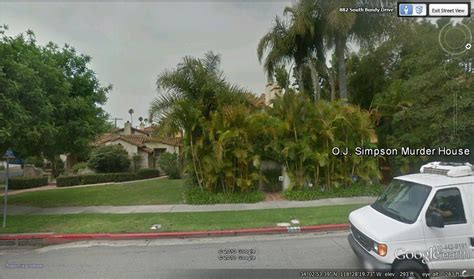 nicole simpson house earth o j simpson murder house los angeles california www seanmunger com