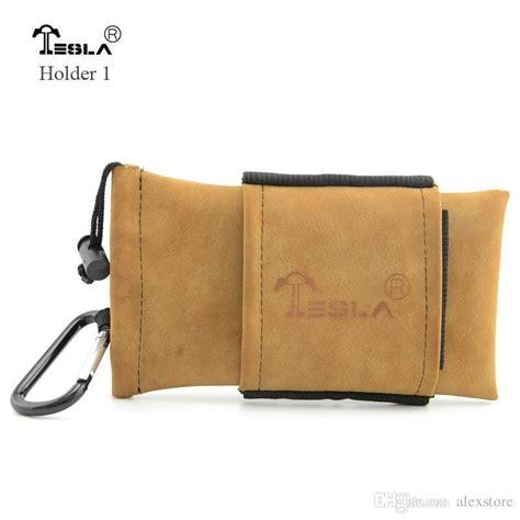 Leather Pouch For Tesla Terminator Tesla Bag Carring Pouch Box Portable Leather Carrry Black Brown Tesla Handbag Pocket Vape