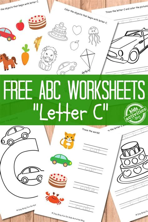 4 Letter Words Related To Crafts best 25 letter c worksheets ideas on letter k