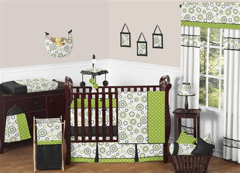 Modern Baby Boy Bedding by Sweet Jojo Designs Modern Circle Gender Neutral Baby