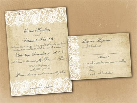 rustic wedding invitation templates theruntime com
