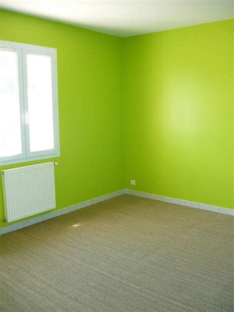 peinture verte chambre peinture et sols int 233 rieur chambres orange