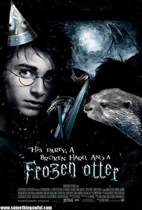 Meme Movie Posters - anagrammed harry potter anagrammed movie posters know