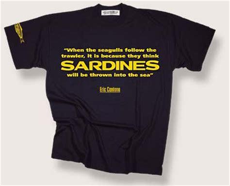 Aaf Cantona 1 T Shirt win eric cantona sardines t shirt