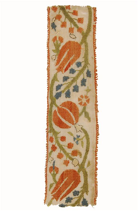 Ottoman Embroidery Ottoman Embroidery Fragment Sarajo