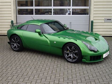 Tvr Colours Styling Tvr Sagaris In Green Rides