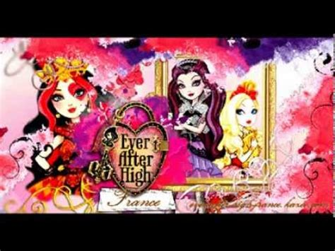 theme songs ever after high ever after high theme song instrumental youtube