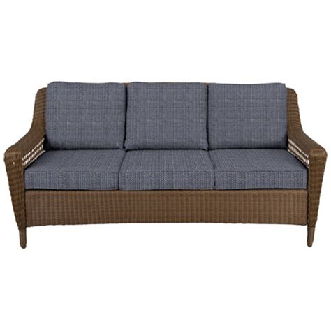 sofa springs home depot spring haven brown collection outdoors the home depot