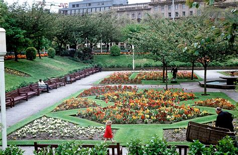 Manchester Gardens by Piccadilly Gardens Manchester Evening News