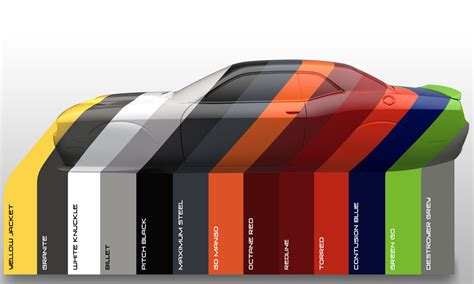 Most Popular Paint Colors 2016 by Dodge Gets More Emotional With Color Names Fca North