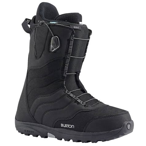 womens snowboarding boots burton mint womens snowboard boots in black atbshop co uk
