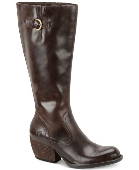 born freeda boots in brown lyst