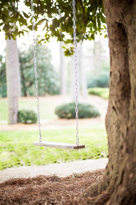 make a tree swing how to make a classic tree swing hgtv