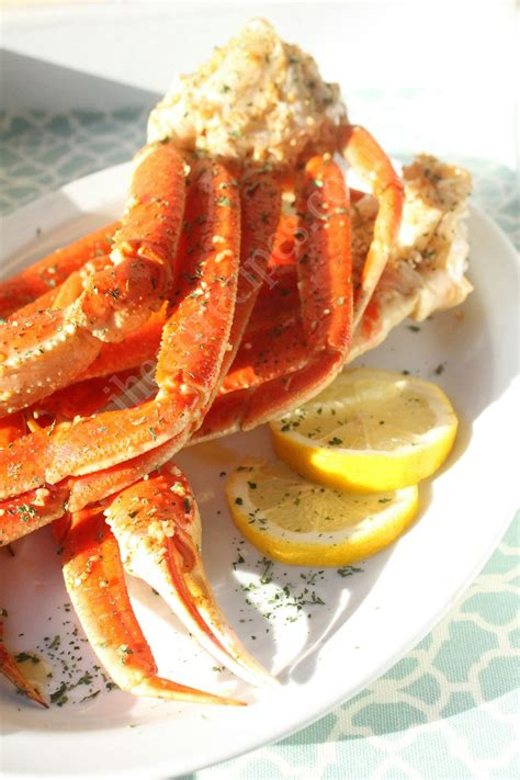 easy crab legs recipe i heart recipes