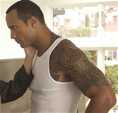 dwayne johnson chest tattoo meaning hair tattoo lifestyle dwayne johnson the rock tattoo