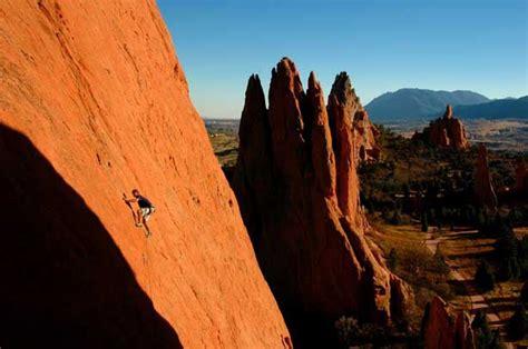 rock climbing garden of the gods balances rock in the garden of the gods colorado springs