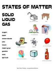 states of matter worksheets states of matter pinterest