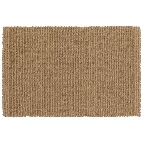 Mohawk Door Mats by Mohawk Home Bleached Woven 23 In X 35 In Coir