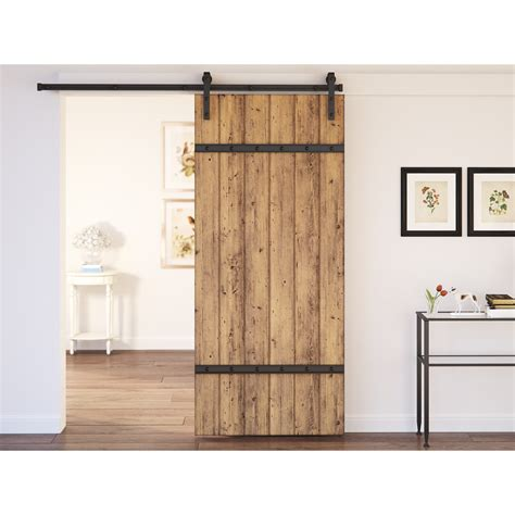 Where To Buy Interior Barn Doors August Grove Caddie 1 Panel Interior Barn Door Reviews Wayfair