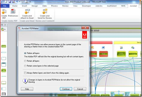 pdf to visio import pdf to visio 2010 skydock